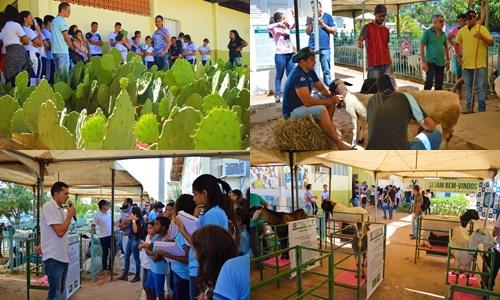FACIAGRA  V Mostra Cientifica de Caprinos e Ovinos recebe grande público na 6º ENAGRO; Fotos