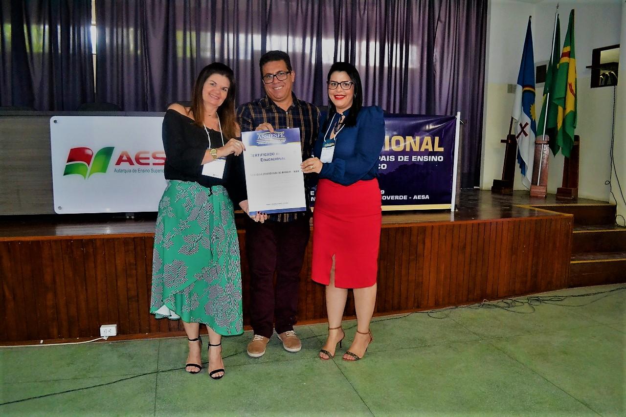Diretora-presidente da Aeda e Diretora da Facisa participam do II Fórum Regional das Autarquias Municipais de Pernambuco e falam sobre a nota 4 do curso de Direito
