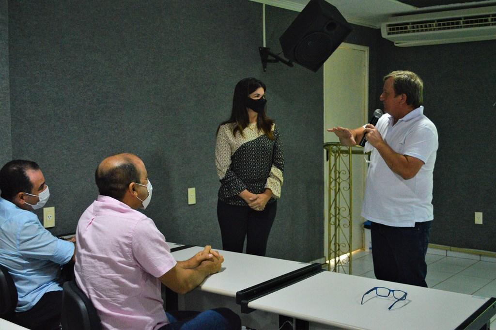 Prefeito de Parauapebas-PA visita AEDA para conhecer estrutura e funcionamento da Autarquia