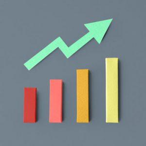 Business statistics bar graph